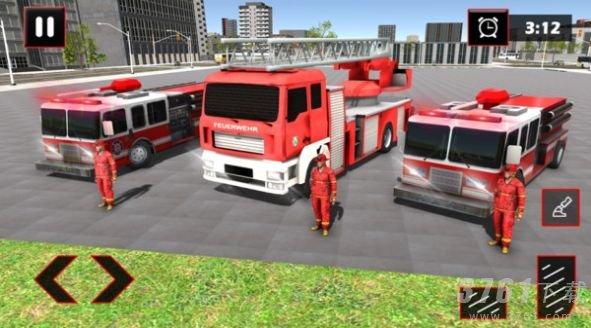 消防车城市救援