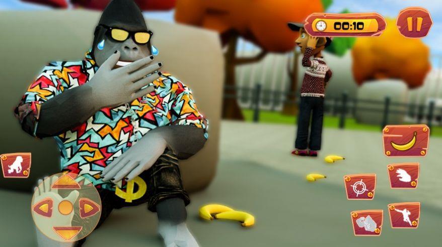 可怕的大猩猩恶作剧模拟器