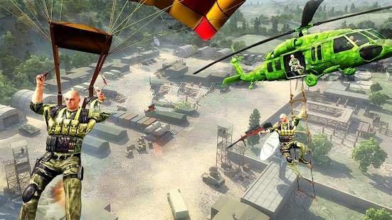 直升机打击战斗