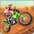高速特技摩托车手