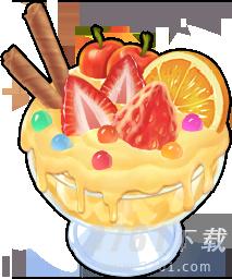 摩尔庄园七彩草莓冰淇淋怎么做 食谱分享