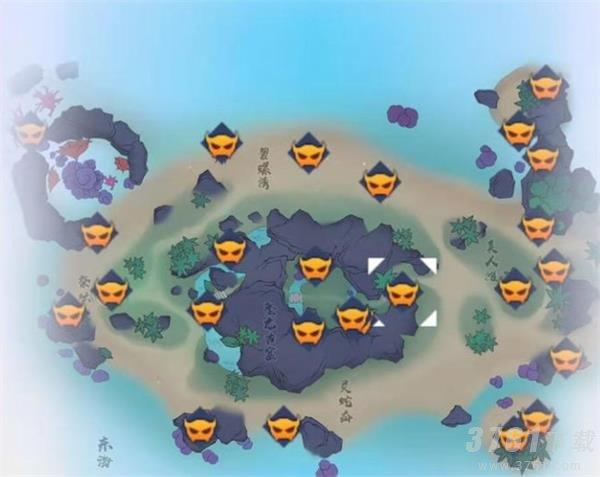 《梦幻新诛仙》焚香谷探灵位置在哪里 焚香谷探灵位置一览