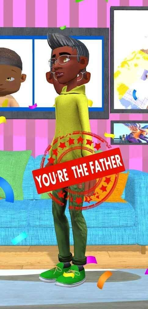 孩子找爸爸