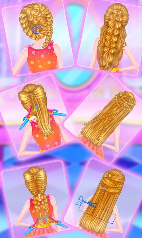 头发时尚造型