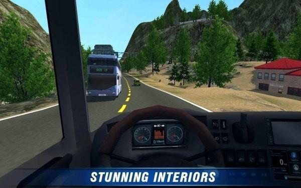 城市客车大巴3D截图