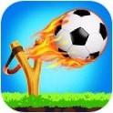 弹弓射击足球