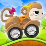 动物儿童赛车