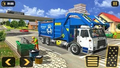 垃圾自卸车