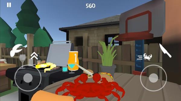 螃蟹模拟器
