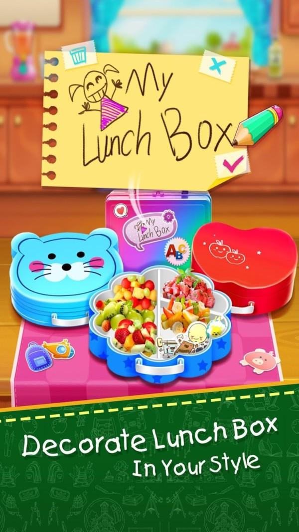 儿童学校午饭制作