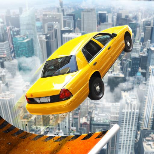 超级坡道赛车跳跃