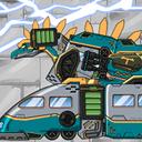 地铁恐龙机器人